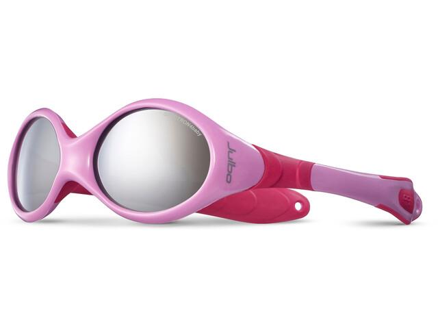 Julbo Looping III Spectron 4 Sunglasses 2-4Y Kinder pink/fuchsia-gray flash silver